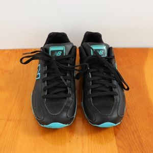 New Balance 442 Black/Teal Running Shoes